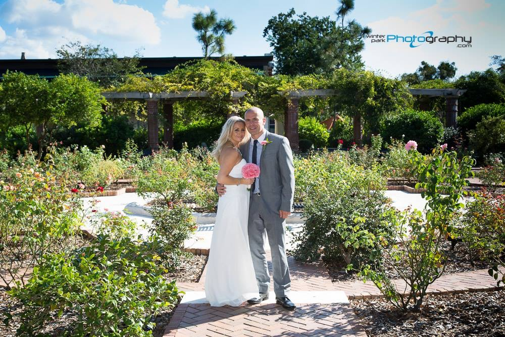 Winter Park Rose Garden, Downtown Winter Park, Park Ave romantic wedding locations, destination weddings