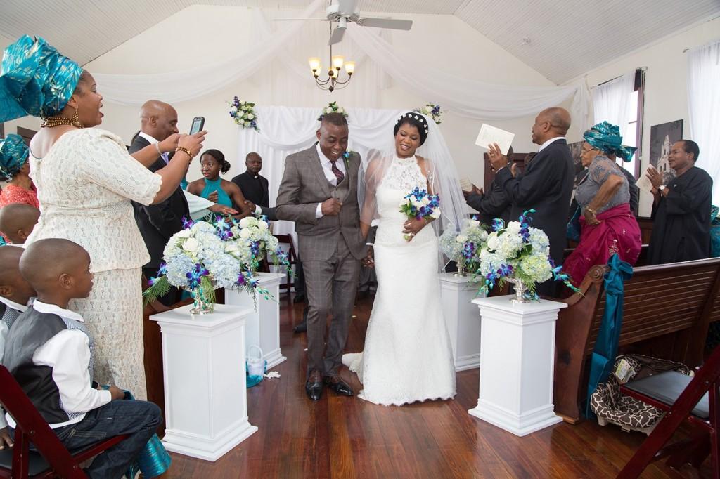 African traditional wedding, destination wedding, international wedding, newlyweds, orlando wedding