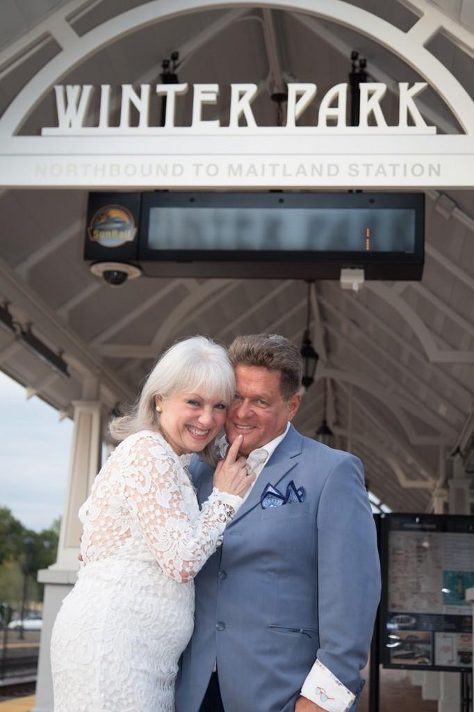 celebrating their 50th wedding anniversary