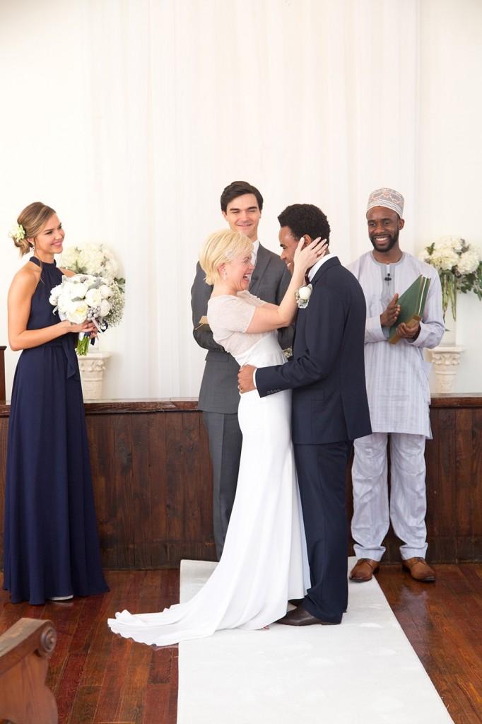 destination wedding, winter park wedding chapel, bride and groom, young love