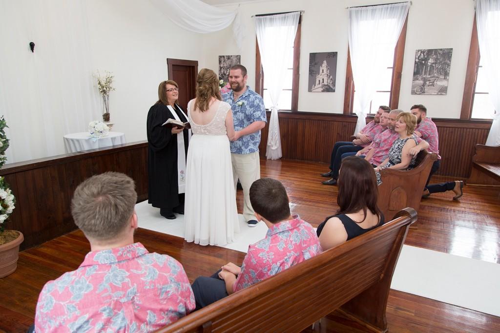 Winter Park wedding chapel, ceremony, vows