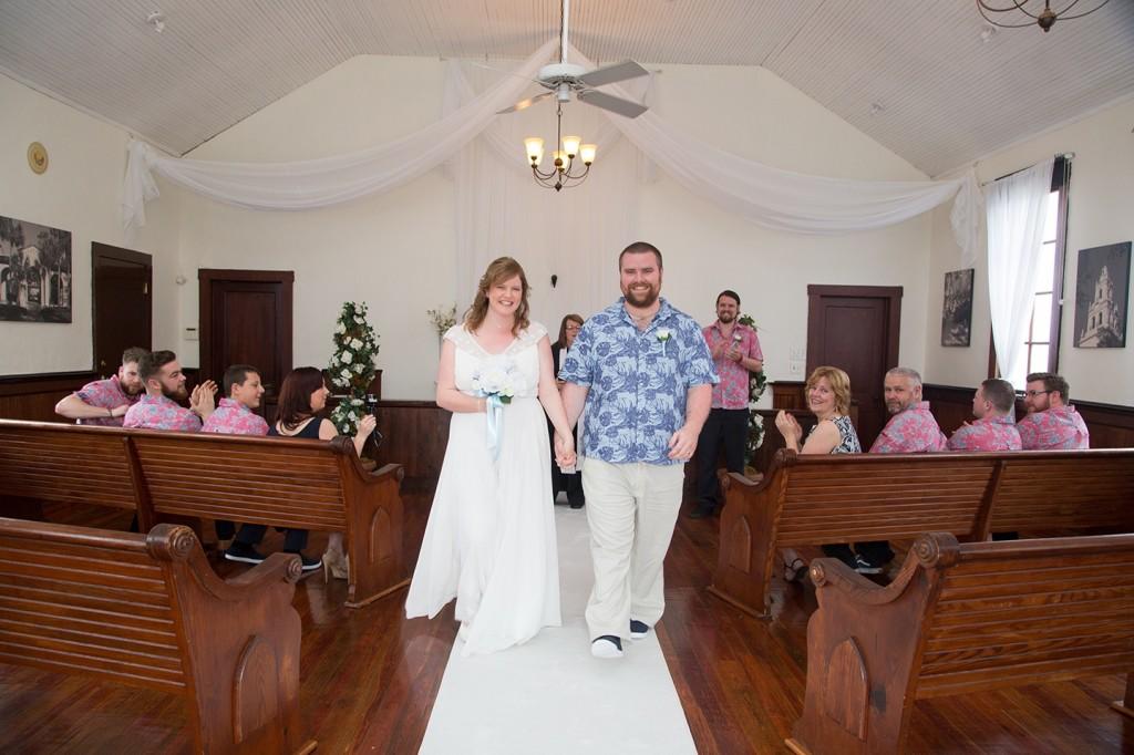 Mr. & Mrs., newlyweds, Orlando weddings