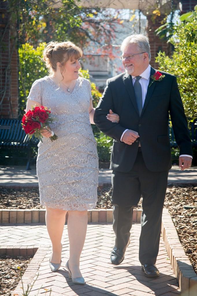 A stroll through the rose garden  - eloping to Florida.