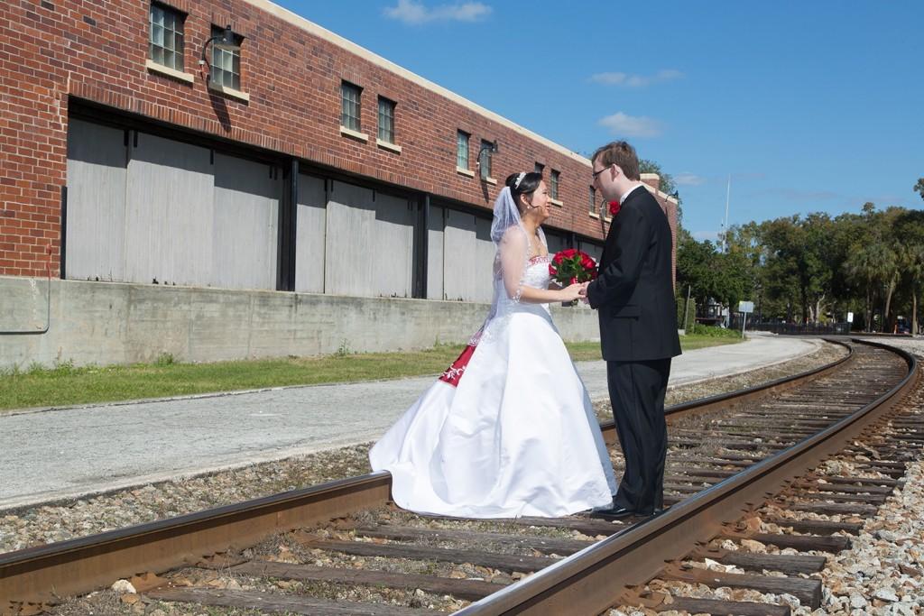 Romantic Florida wedding in Winter Park