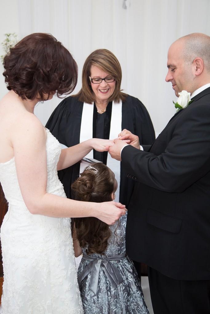 wedding family, flower girl, orlando wedding ceremony, orlando minister