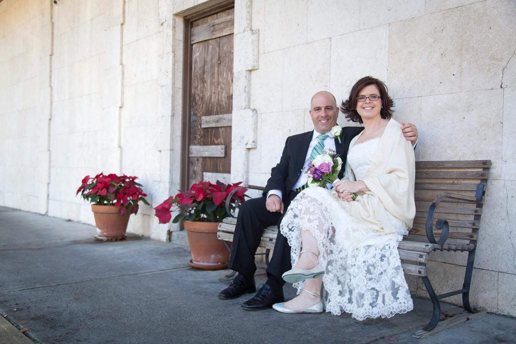 A romantic Florida destination wedding