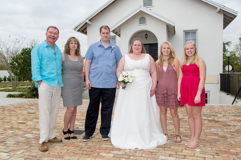 Friends and family for an overseas wedding here in Winter Park, Florida