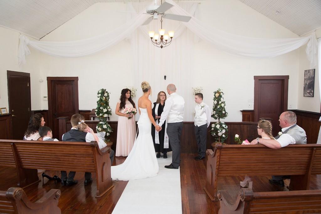 A UK destination wedding at the Winter Park Wedding Chapel