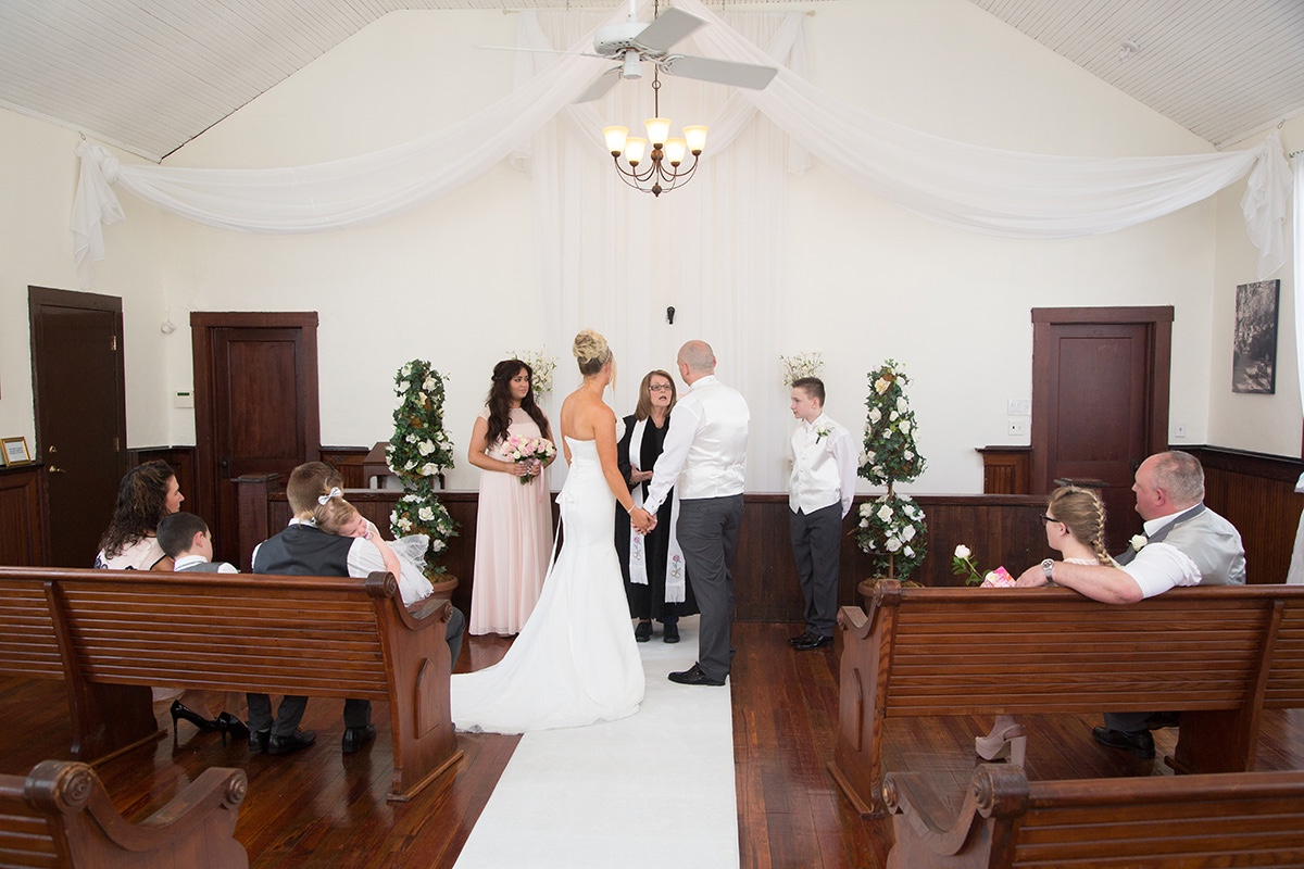 A UK destination wedding at the Winter Park Wedding Chapel