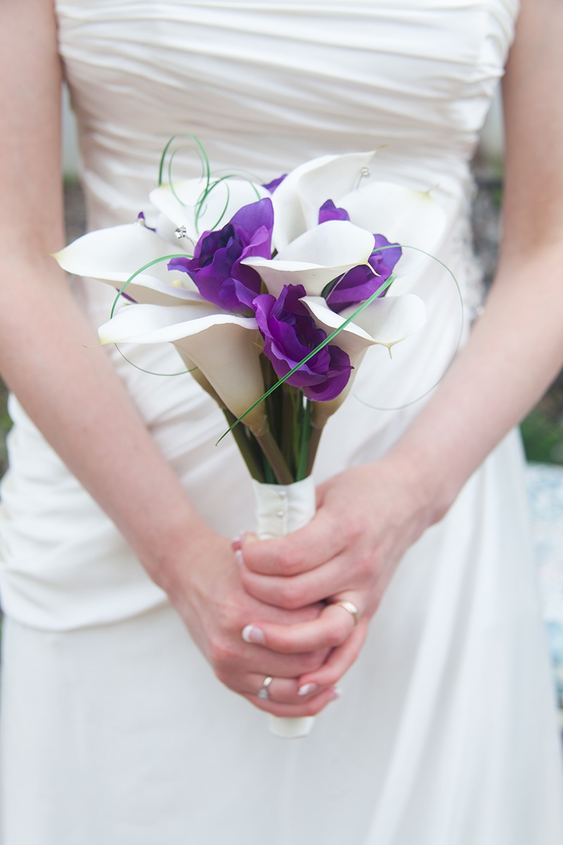 A photo of this international bride's bouquet
