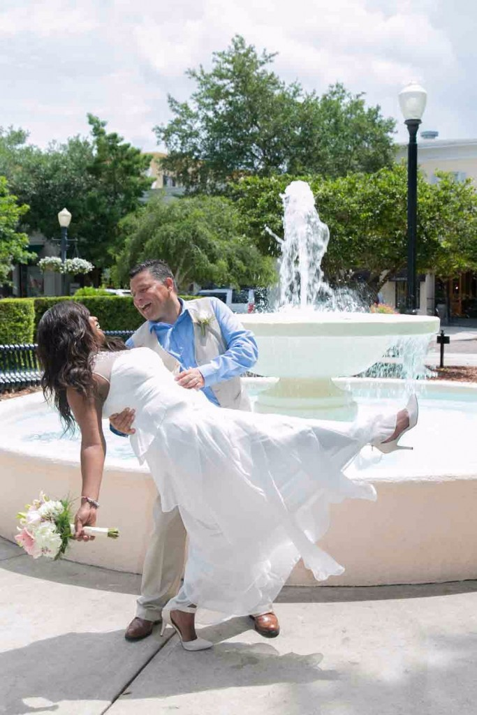 First dance on Park Ave in Winter Park