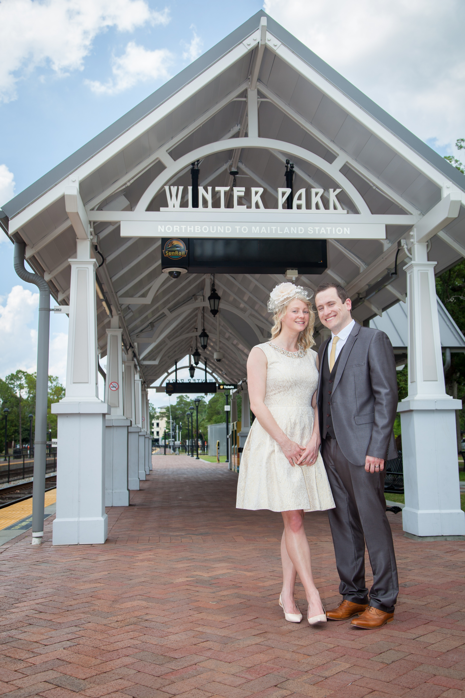 Under the Winter Park Sunrail Station